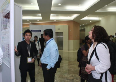 At IIT Bombay - Interacting with the delegates