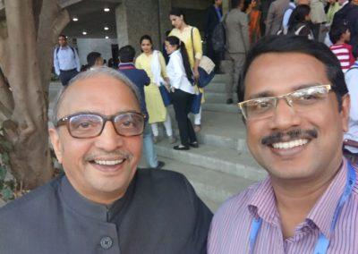 With Prof. Dr. Deepak B. Phatak, Computer scientist, IIT Bombay (Padma Shri Awardee)