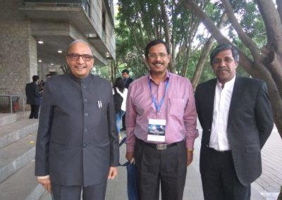 With Prof. Dr. Deepak B. Phatak (IIT Bombay) & Prof. Dr. P.D. Jose (IIM Bangalore)